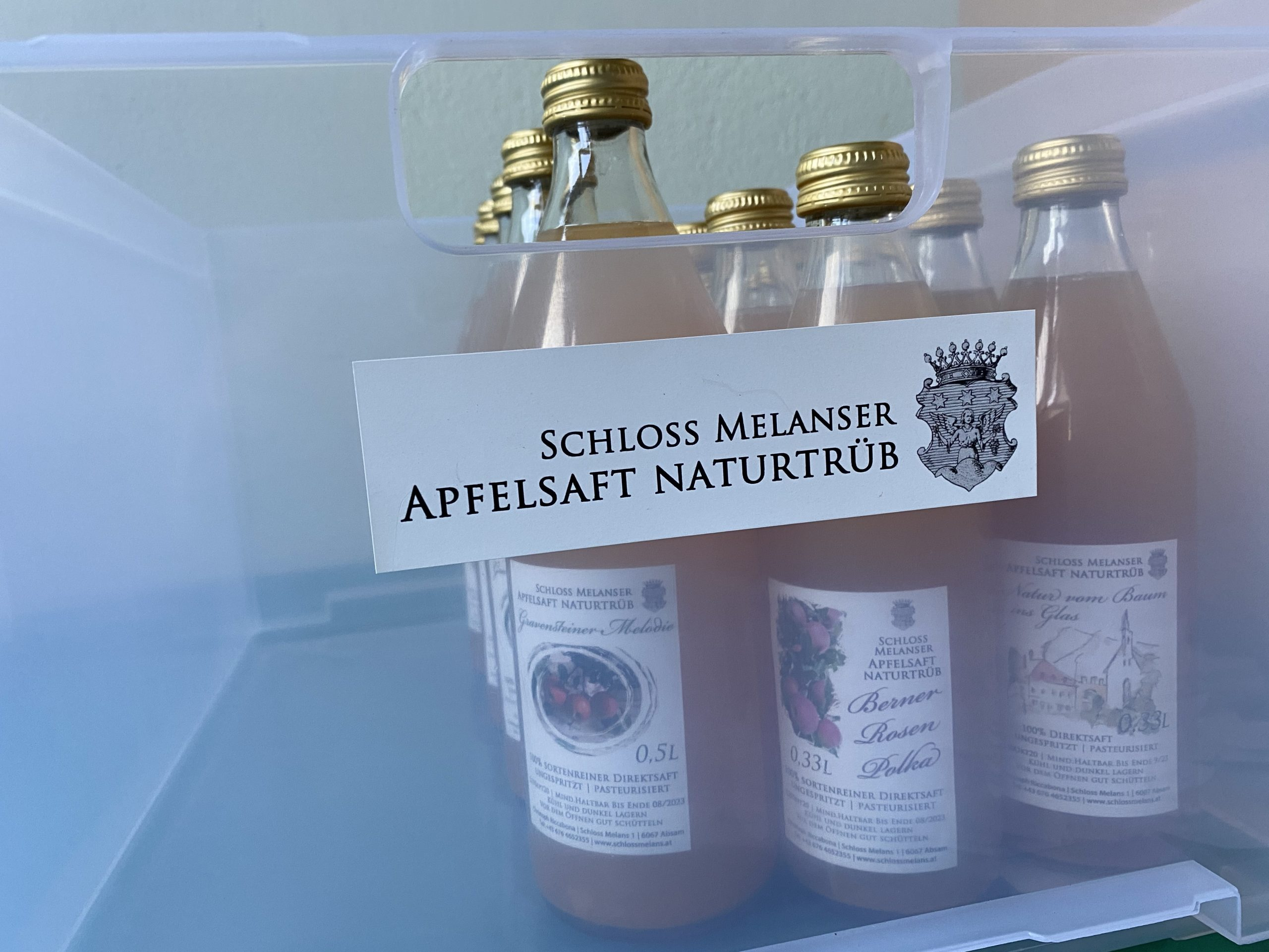 Die edelsten Apfelsäfte Tirols